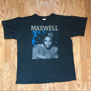 Vintage Maxwell Live '99 Concert T-shirt